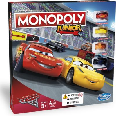 Hasbro C1343100 Monopoly Junior Cars 3