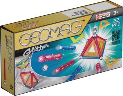 Geomag Panels glitter 22-teilig