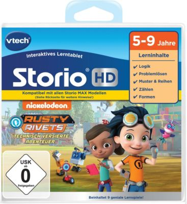 VTech Vtech 80-271304 CS.Storio 2+3/MAX/TV Rusty Rivets HD