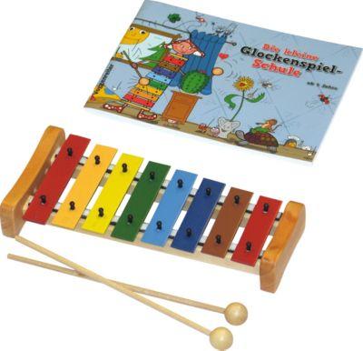 Voggenreiter Buntes Glockenspielset mit Buch &acute&acuteKleine Glockenspielschule&acute&acute