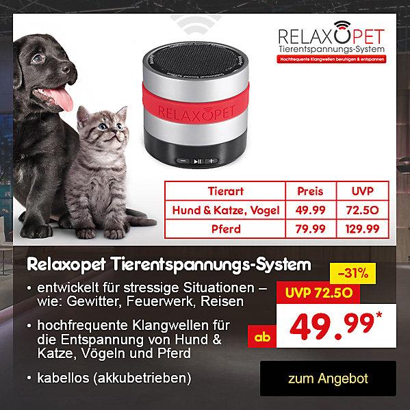 Die Höhle der Löwen - Relaxopet Tierentspannungs-System, für ab nur 49.99 €* direkt hier im Netto Online-Shop kaufen.