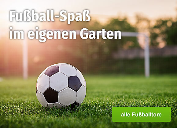 Fußball-Spaß im eigenen Garten