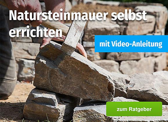 DIY: Natursteinmauer