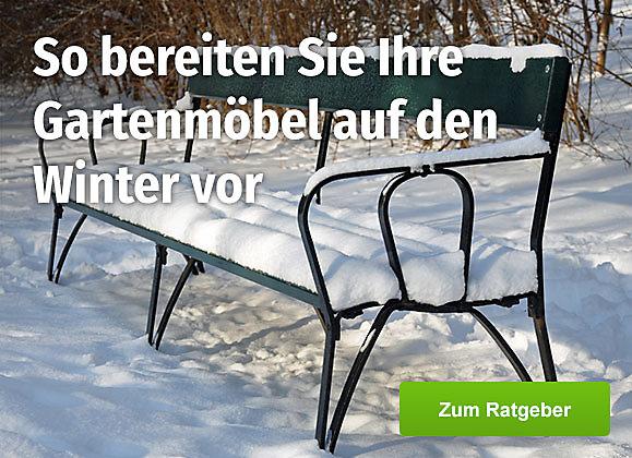 Ratgeberbeitrag: So bereiten Sie Ihre Gartenmöbel auf den Winter vor