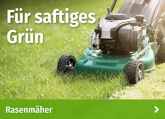 Für saftiges Grün - Rasenmäher