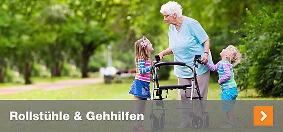Rollstühle & Gehhilfen