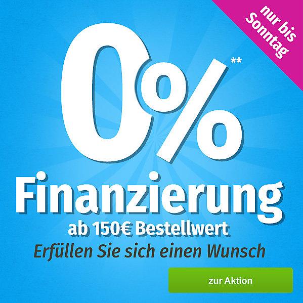 0% Finanzierung