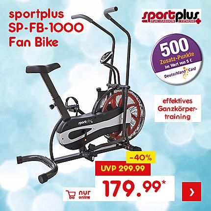 sportplus SP-FB-1000 Fan Bike, für nur 179.99 €*