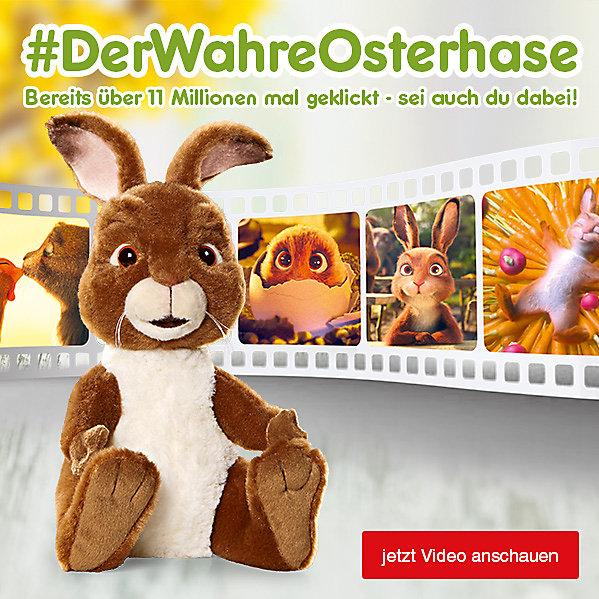 Die Oster-Überraschung – #DerWahreOsterhase - bereits über 11 Millionen mal geklickt, sei auch du dabei!
