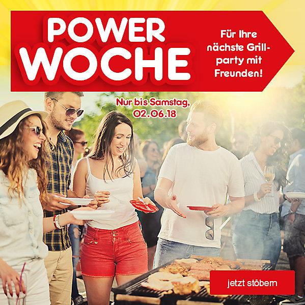 Powerwoche - für Ihre nächste Grillparty mit Freunden!