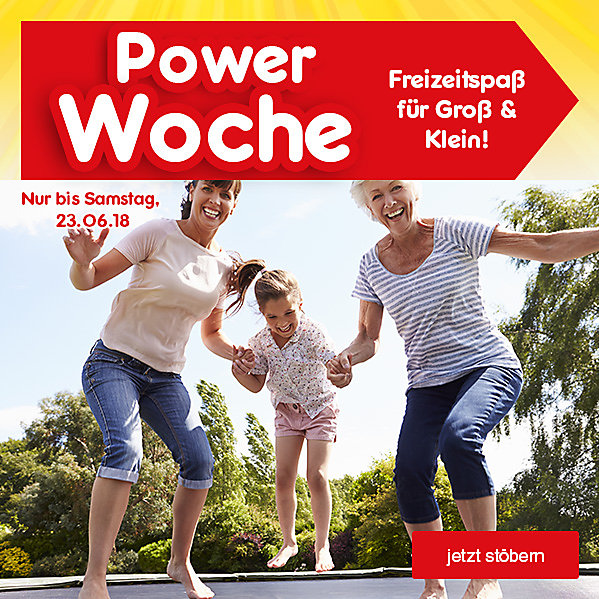 Powerwoche - Freizeitspaß für Groß & Klein!