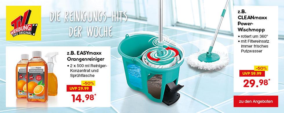TV-Werbung - Die Reinigungs-Hits der Woche