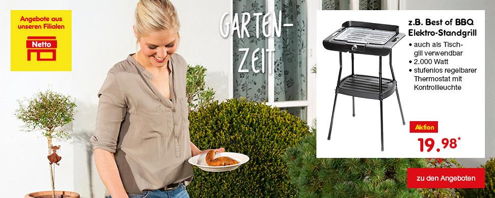 Unsere aktuellen Angebote aus den Netto-Filialen - Garten- und Grillzeit