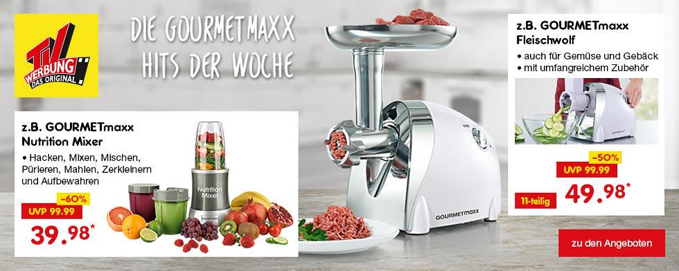 TV-Werbung - Die GOURMETmaxx Hits der Woche