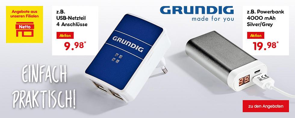 Einfach praktisch - GRUNDIG made for you