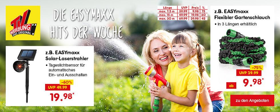 TV-Werbung - Die EASYmaxx-Hits der Woche