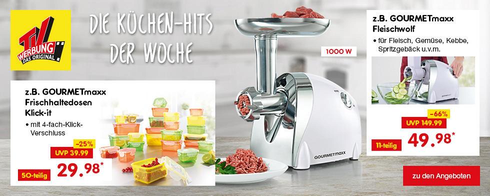 TV-Werbung - Die Küchen-Hits der Woche
