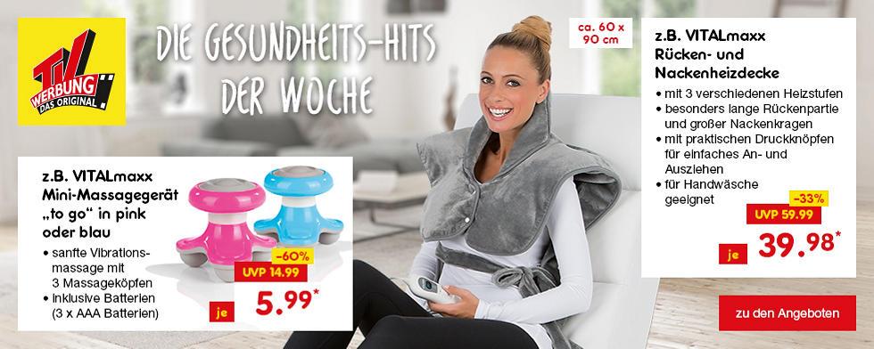 TV-Werbung - Die Gesundheits-Hits der Woche
