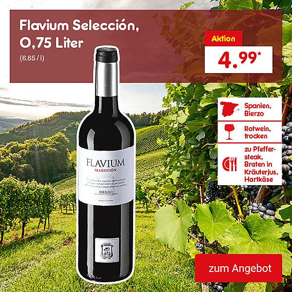 Flavium Selección, 0,75 Liter (6.65 / l), für nur 4.99 €*