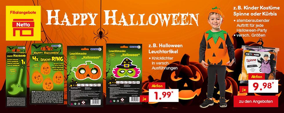 Happy Halloween - Süßes oder Saures