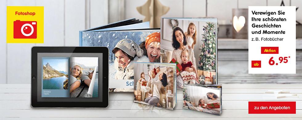 Verewigen Sie Ihre schönsten Geschichten und Momente z.B. Fotobücher ab 6.95 €*