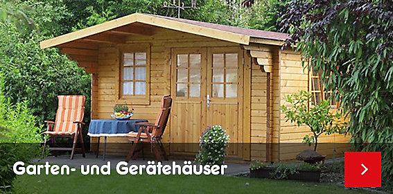 Garten- & Gerätehäuser