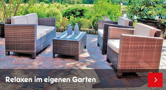 Gartenmöbel – Relaxen im eigenen Garten