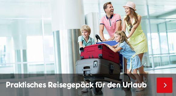 Praktisches Reisegepäck für den Urlaub