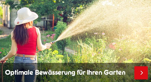 Bewässerung - optimale Bewässerung für Ihren Garten