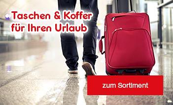 Taschen & Koffer für Ihren Urlaub