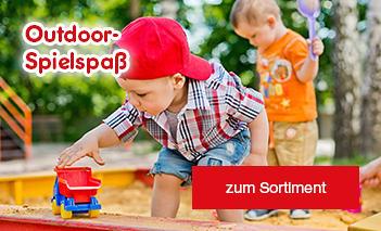 Gartenspielgeräte & Spielzeug - der perfekte Outdoor-Spielspaß