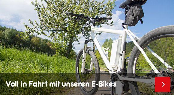 Elektoräder - Voll in Fahrt mit unseren E-Bikes