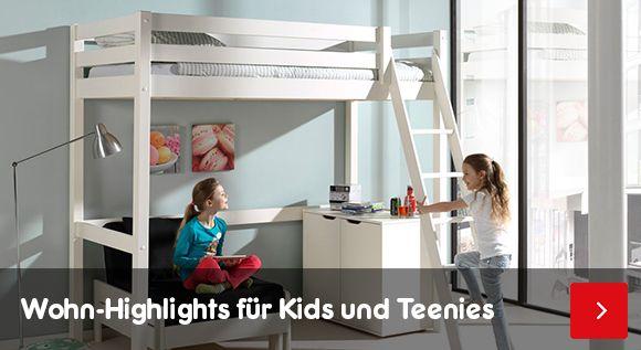 Kinder- & Jugendmöbel - Wohn-Highlights für Kids und Teenies