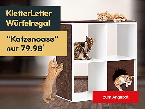 Die Höhle der Löwen - KletterLetter Würfelregal Katzenoase für nur 79.98* und versandkostenfrei erhältlich