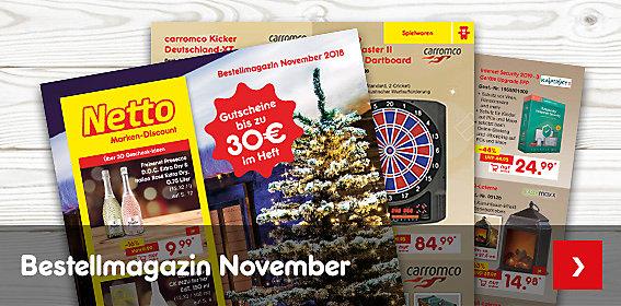 Unser neues Bestellmagazin November ist da!