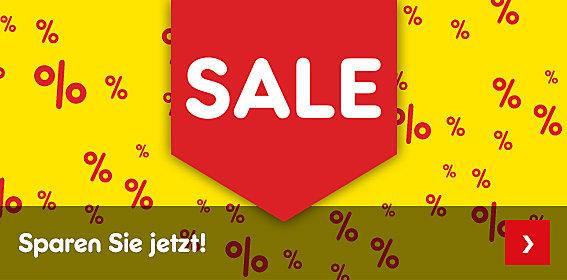 Sale - sparen Sie jetzt!