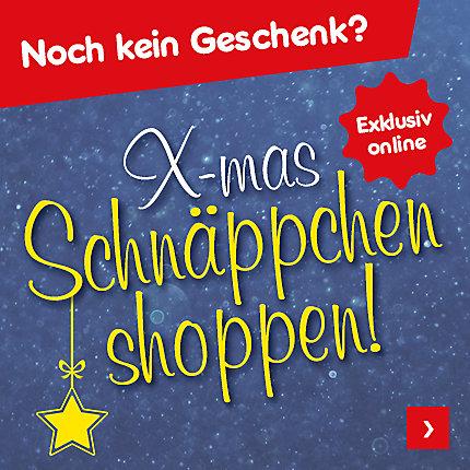 Noch kein Geschenk? X-mas Schnäppchen shoppen!