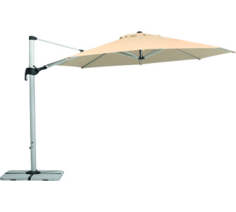 Schneider-Schirme Schneider Sonnenschirm Barbados natur, Ø 350 cm
