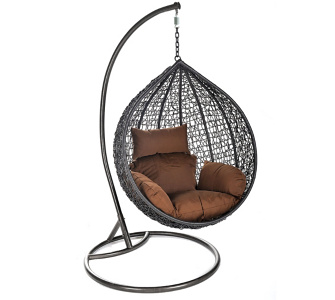 Home Deluxe Cocoon Polyrattan Hängesessel
