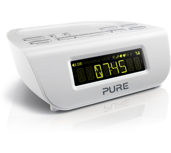 Pure Siesta Mi Series 2 kompakter Radiowecker mit DAB+ Digital- und UK