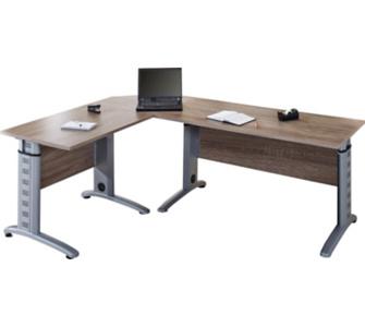 VCM 3-tlg. Schreibtisch-Set Braso 220 | Computertisch