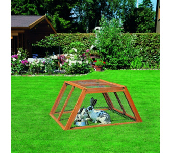 eigenheim f r kaninchen und co hasenstall selbst gebaut. Black Bedroom Furniture Sets. Home Design Ideas