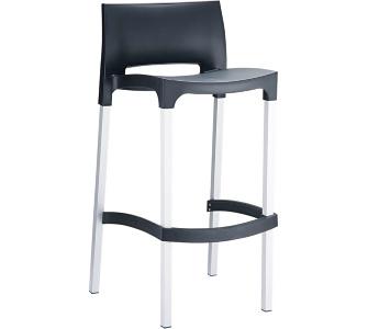 barhocker mit lehne schwarz preisvergleich die besten angebote online kaufen. Black Bedroom Furniture Sets. Home Design Ideas
