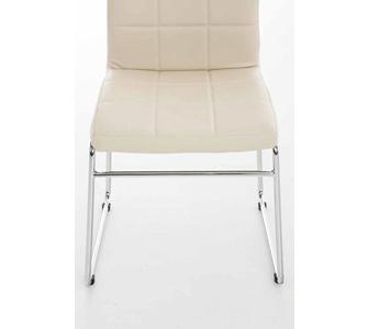 CLP Küchen-Stuhl SARAH, gut gepolsterte Sitzfläche, pflegeleichter Kunst