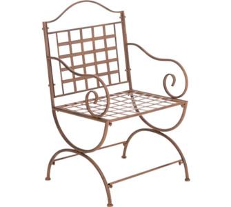 nostalgischer Stuhl LOTTA aus Eisen (aus bis zu 6 Farben wählen)