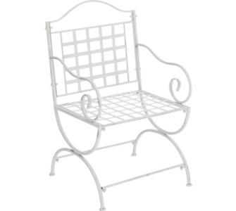 CLP nostalgischer Stuhl LOTTA aus Eisen (aus bis zu 6 Farben wählen)