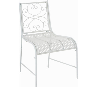 nostalgischer Stuhl ALVA aus Eisen (aus bis zu 6 Farben wählen)