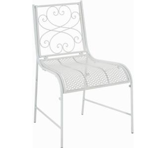 CLP nostalgischer Stuhl ALVA aus Eisen (aus bis zu 6 Farben wählen)