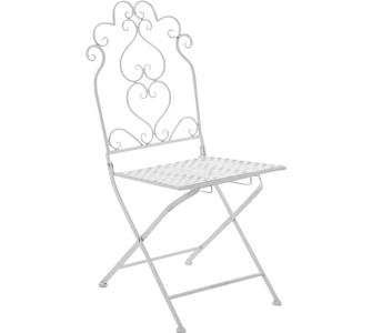 CLP nostalgischer Stuhl ANABEL aus Eisen (aus bis zu 6 Farben wählen)