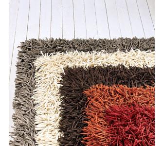 Trendfabrik Teppich ZOTTEL, taupe, Gr.90x160